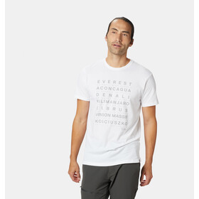 Mountain Hardwear M's Seven Summits SS T-Shirt White